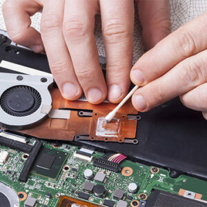 Notebook Lüfter Reparatur