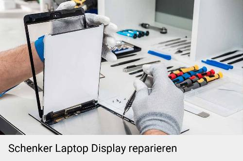 Schenker-Notebook-Display-Bildschirm-Reparatur