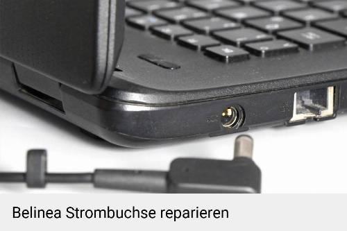 Netzteilbuchse Belinea Notebook-Reparatur