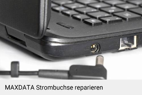 Netzteilbuchse MAXDATA Notebook-Reparatur