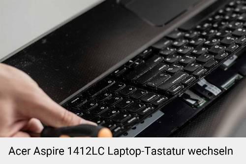 Acer Aspire 1412LC Laptop Tastatur-Reparatur