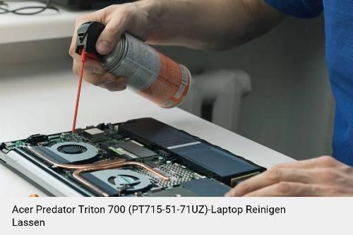 Acer Predator Triton 700 (PT715-51-71UZ) Laptop Innenreinigung Tastatur Lüfter