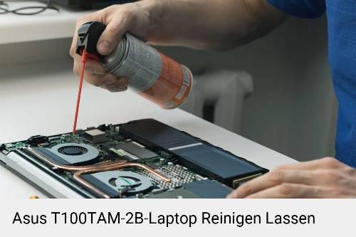 Asus T100TAM-2B Laptop Innenreinigung Tastatur Lüfter