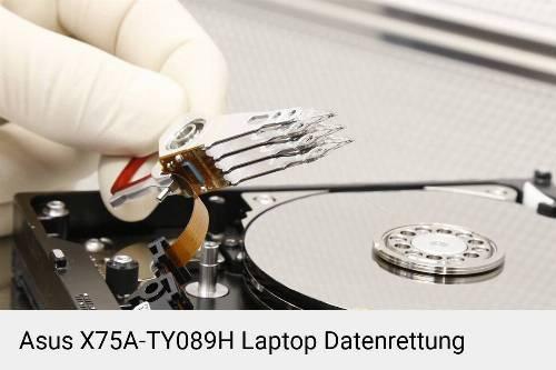 Asus X75A-TY089H Laptop Daten retten