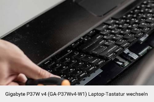 Gigabyte P37W v4 (GA-P37Wv4-W1) Laptop Tastatur-Reparatur