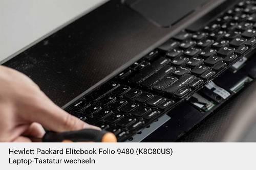 Hewlett Packard Elitebook Folio 9480 (K8C80US) Laptop Tastatur-Reparatur