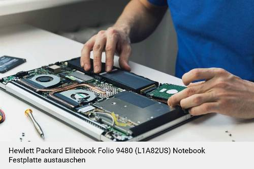 Hewlett Packard Elitebook Folio 9480 (L1A82US) Laptop SSD/Festplatten Reparatur