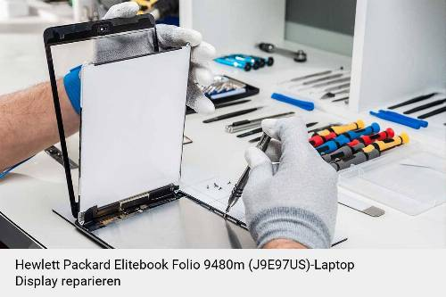 Hewlett Packard Elitebook Folio 9480m (J9E97US) Notebook Display Bildschirm Reparatur