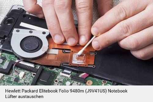 Hewlett Packard Elitebook Folio 9480m (J9V41US) Lüfter Laptop Deckel Reparatur