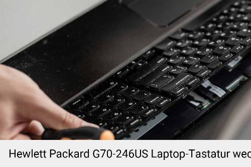 Hewlett Packard G70-246US Laptop Tastatur-Reparatur