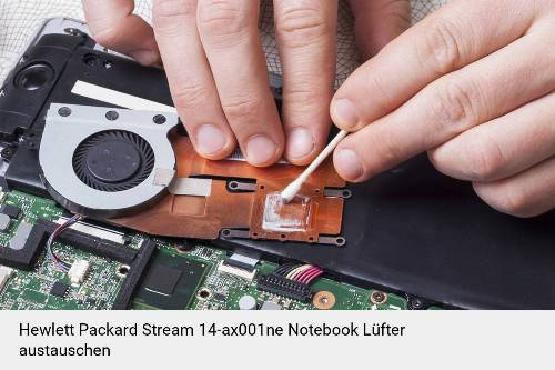 Hewlett Packard Stream 14-ax001ne Lüfter Laptop Deckel Reparatur