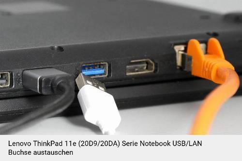 Lenovo ThinkPad 11e (20D9/20DA) Serie Laptop USB/LAN Buchse-Reparatur