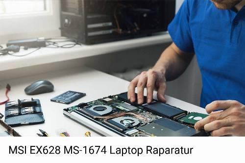 MSI EX628 MS-1674 Notebook-Reparatur