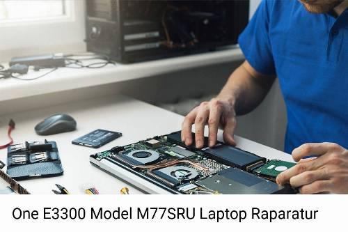 One E3300 Model M77SRU Notebook-Reparatur