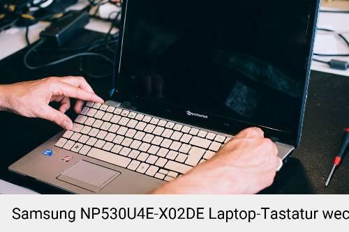 Samsung NP530U4E-X02DE Laptop Tastatur-Reparatur