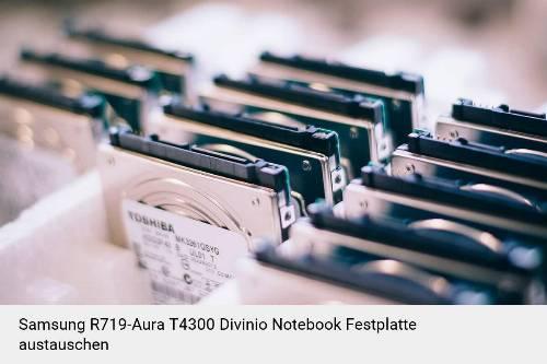 Samsung R719-Aura T4300 Divinio Laptop SSD/Festplatten Reparatur