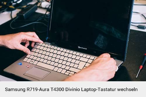 Samsung R719-Aura T4300 Divinio Laptop Tastatur-Reparatur