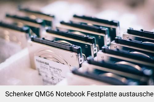 Schenker QMG6 Laptop SSD/Festplatten Reparatur