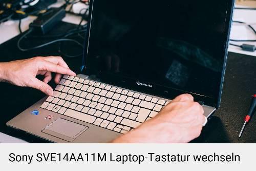 Sony SVE14AA11M Laptop Tastatur-Reparatur