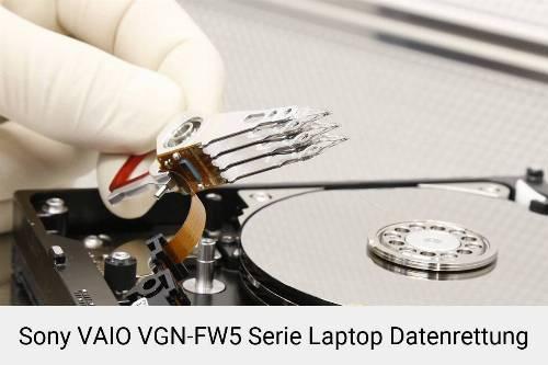 Sony VAIO VGN-FW5 Serie Laptop Daten retten
