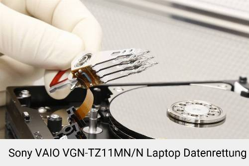 Sony VAIO VGN-TZ11MN/N Laptop Daten retten