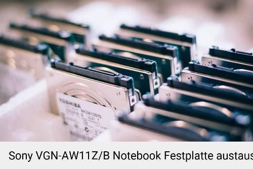 Sony VGN-AW11Z/B Laptop SSD/Festplatten Reparatur