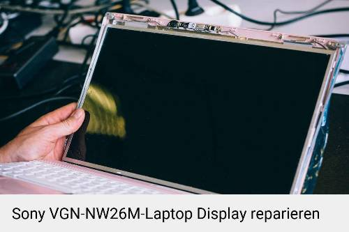 Sony VGN-NW26M Notebook Display Bildschirm Reparatur