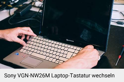 Sony VGN-NW26M Laptop Tastatur-Reparatur