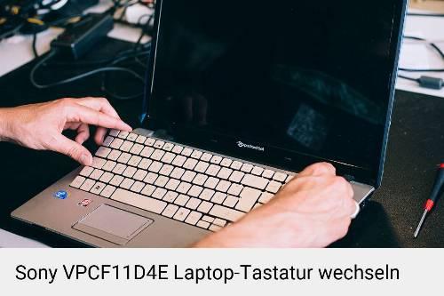 Sony VPCF11D4E Laptop Tastatur-Reparatur