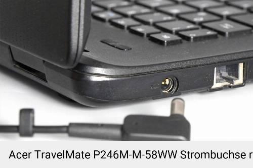 Netzteilbuchse Acer TravelMate P246M-M-58WW Notebook-Reparatur