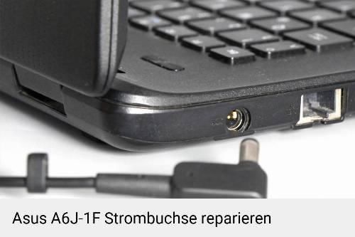 Netzteilbuchse Asus A6J-1F Notebook-Reparatur