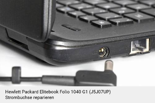 Netzteilbuchse Hewlett Packard Elitebook Folio 1040 G1 (J5J07UP) Notebook-Reparatur