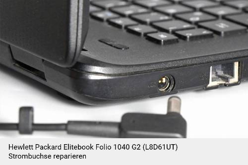 Netzteilbuchse Hewlett Packard Elitebook Folio 1040 G2 (L8D61UT) Notebook-Reparatur