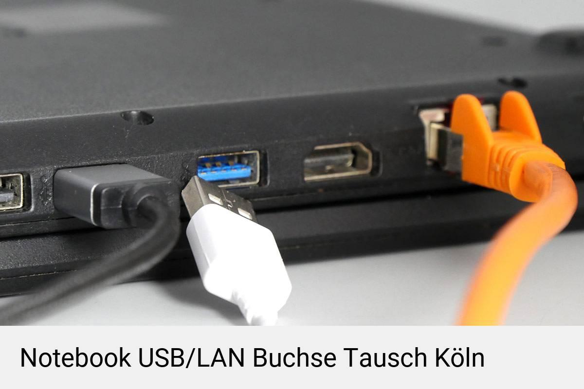 Laptop USB/LAN Buchse Reparatur Köln